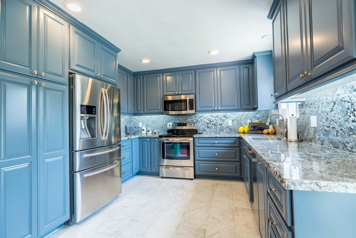 Water Damage to Complete Kitchen Remodel - 3D Environmental