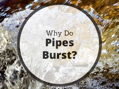 What causes pipes to burst in homes